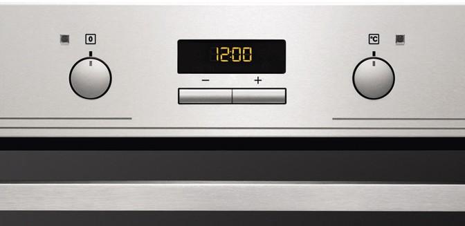 Уменьшаем яркость часов на духовом шкафу Electrolux