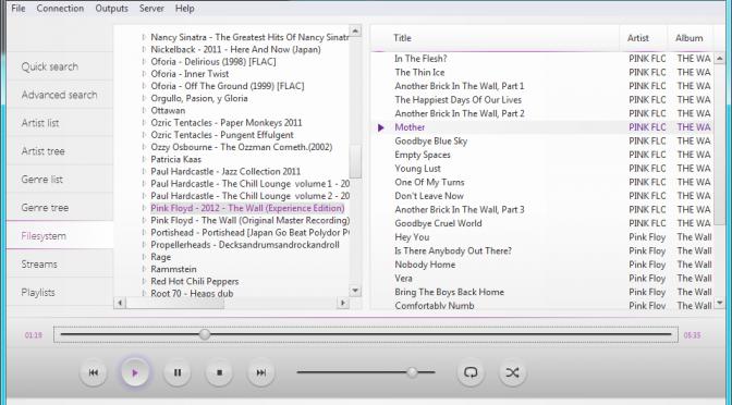 Драйвер проигрывателя MPD (Music Player Daemon) для IoBroker