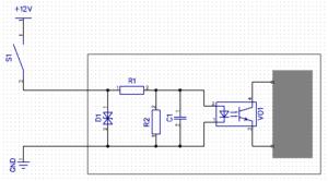 Схема подключения выключателей к контроллеру освещения