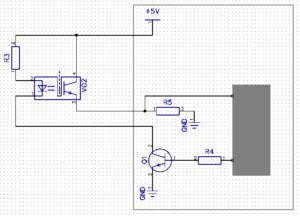 Схема подключения фотодатчика открытия двери шкафа