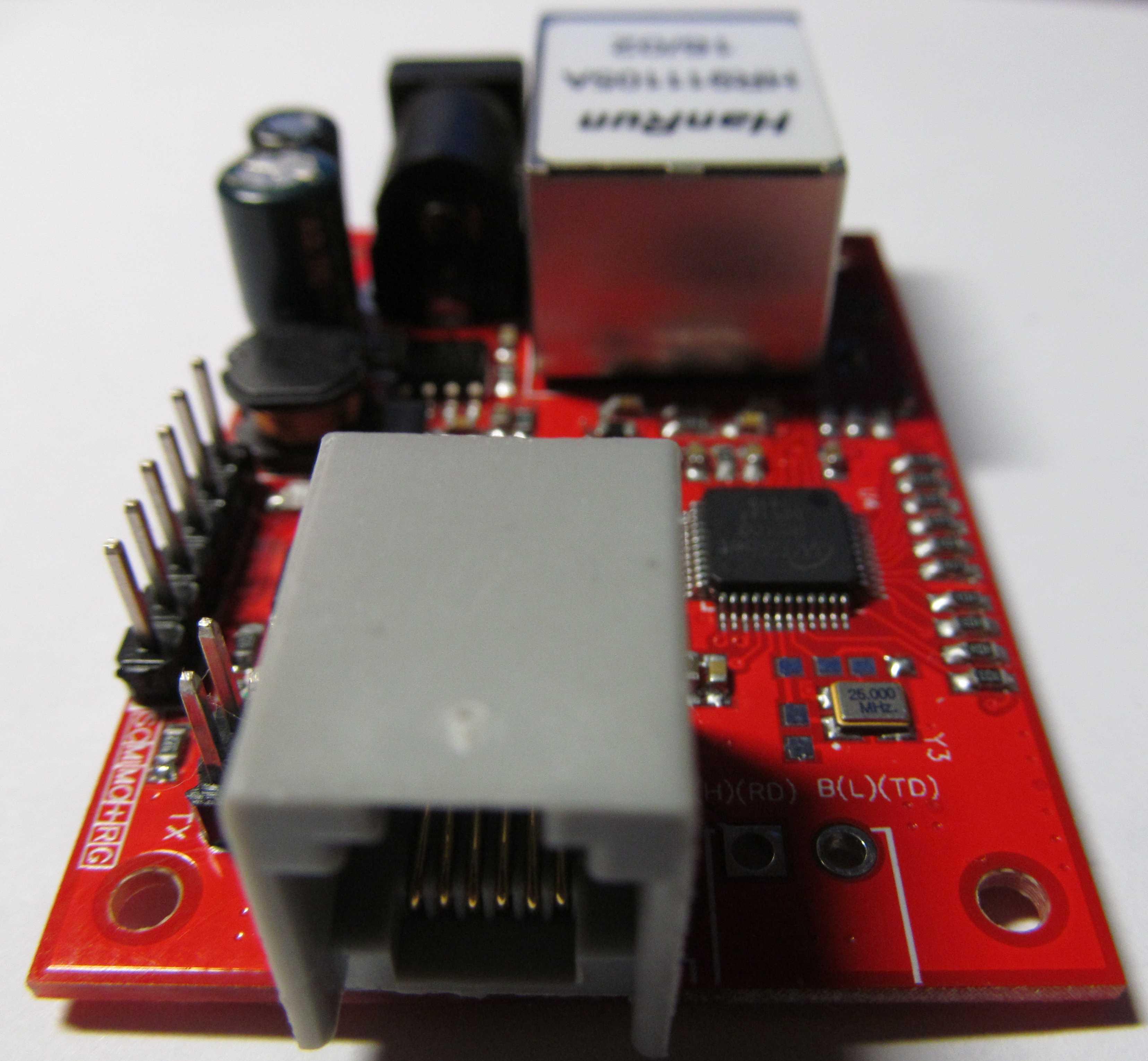Разьем для подключения RS232, RS485 или CAN