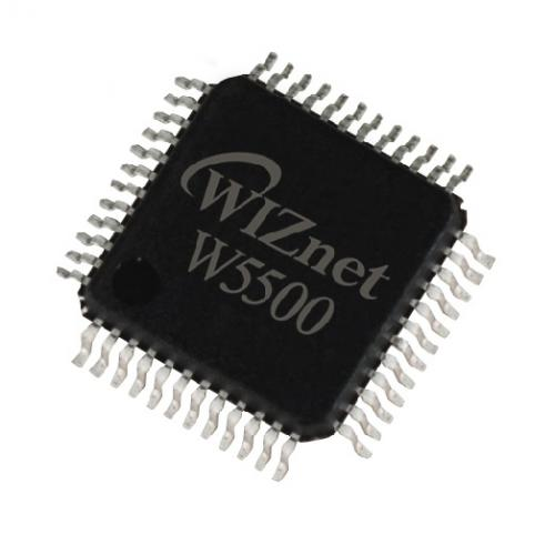 Микросхема W5500 от производителя WIZnet Co., Ltd.