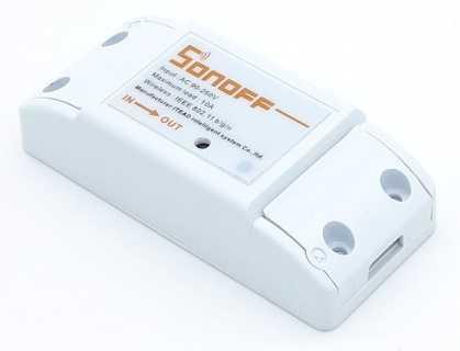 Внешний вид WiFi выключателя Sonoff