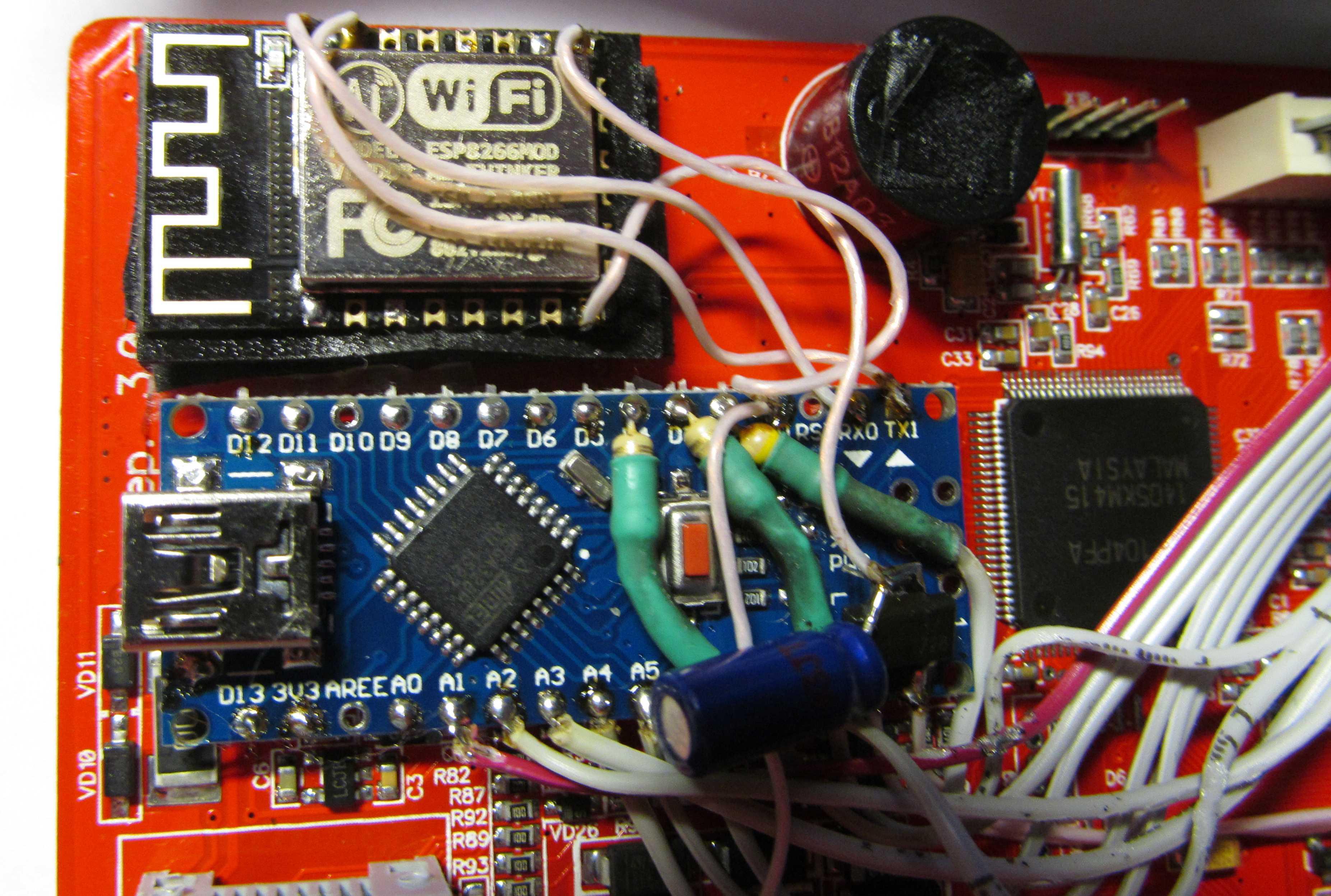 Аквасторож с модулем WiFi ESP8266