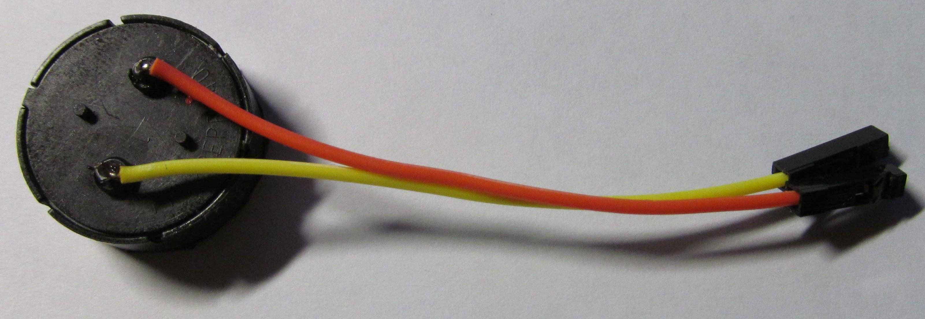 Пьезоэлектрическая пассивная пищалка (Buzzer)