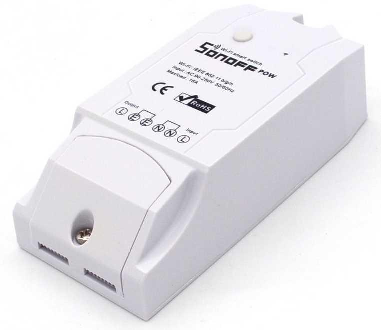 Внешний вид WiFi выключателя Sonoff POW