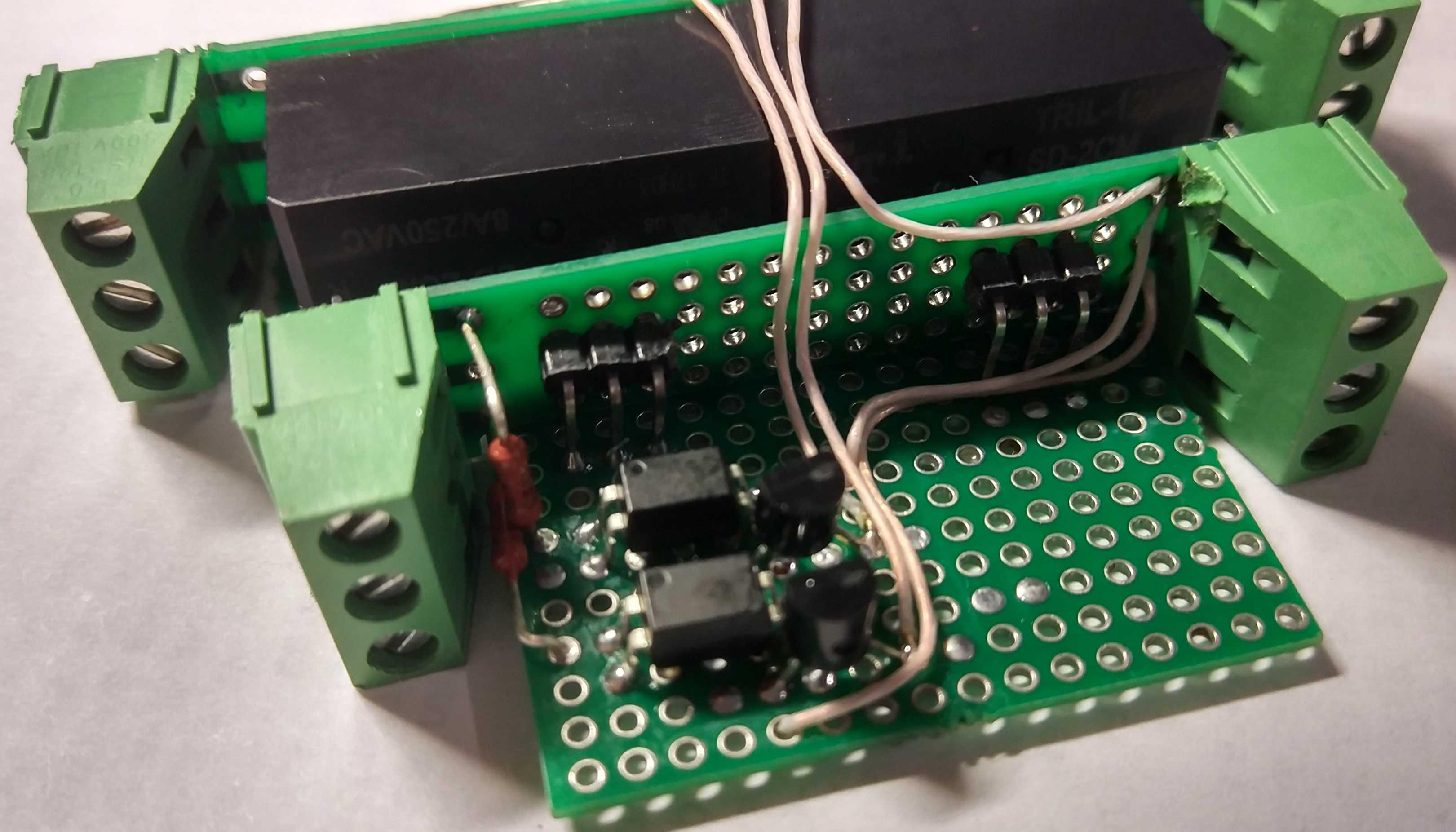Блок управления и защиты электропривода проектора