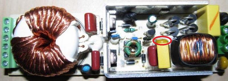 Плата электронного трансформатора для галогенных ламп Eaglerise EET210LK