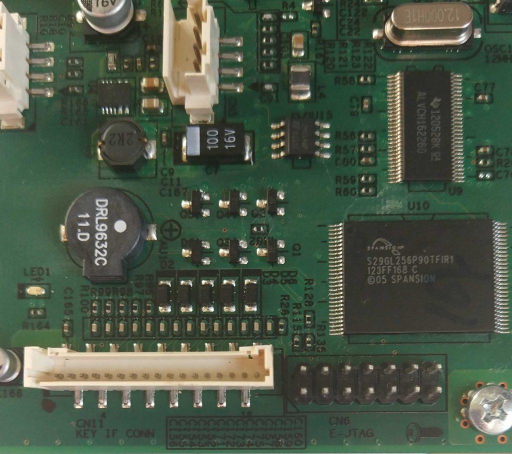 Дисплей XEROX PHASER 3635