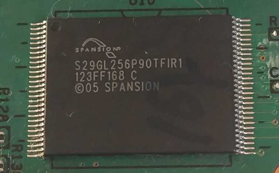 NOR Flash Spansion S29GL256P