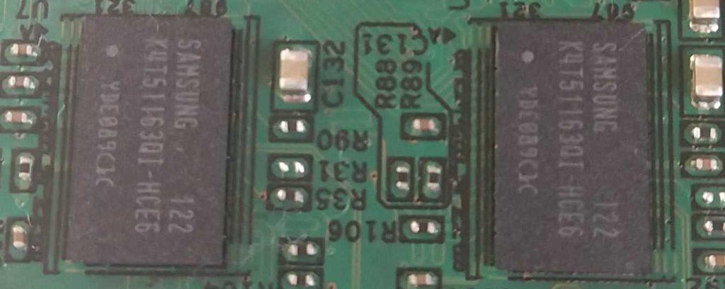 SDRAM DDR2 Samsung K4T51163QI-HCE6
