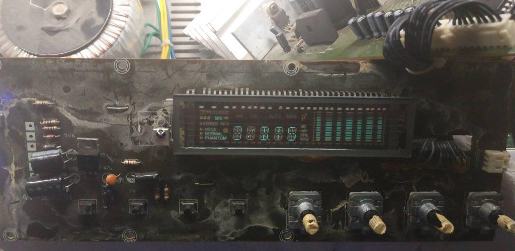 Фронтальная плата усилителя Aleks K2 BT878