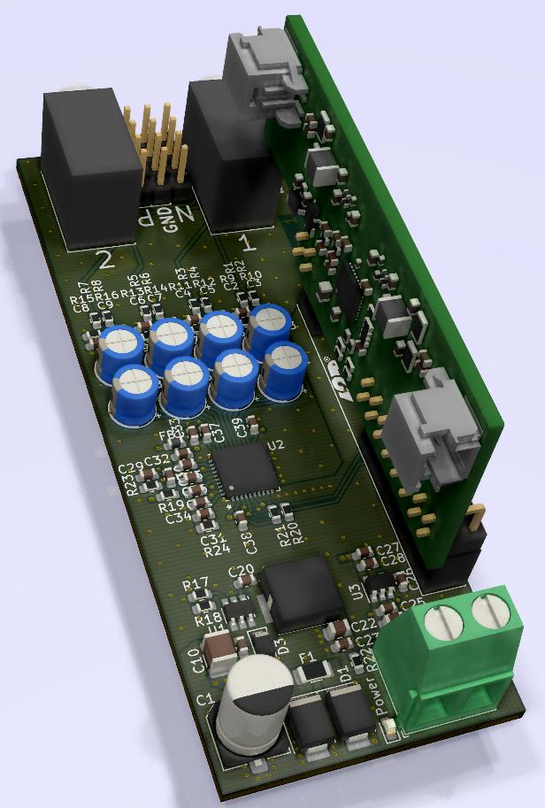 Модуль аналоговых входов