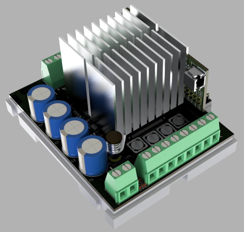 Модуль 8 канального усилителя