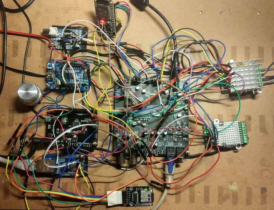 Макетка для тестов DSP процессора ADAU1445