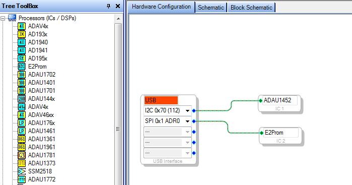 Конфигурация USBi проекта.