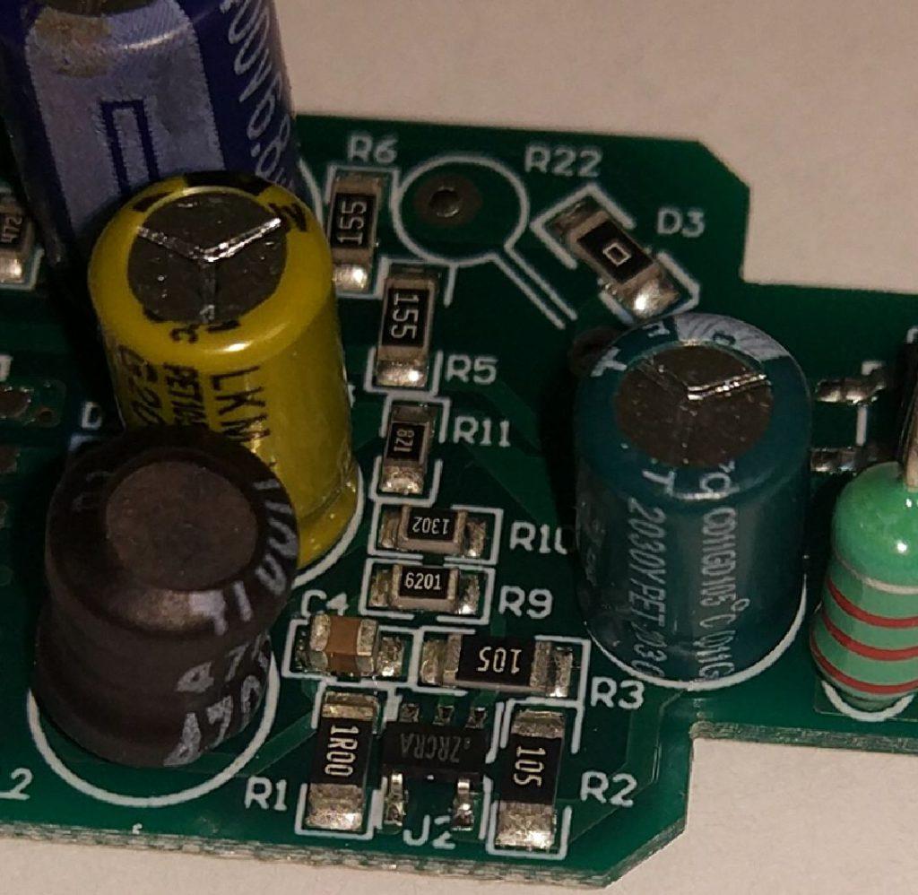 DCDC источник питания модуля WB2L