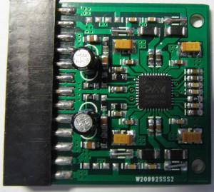 Плата усилителя на микросхеме PAM8610